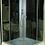 Thumbnail: К-Серия 983 душевая кабина, прозрачное стекло, 90х90 см