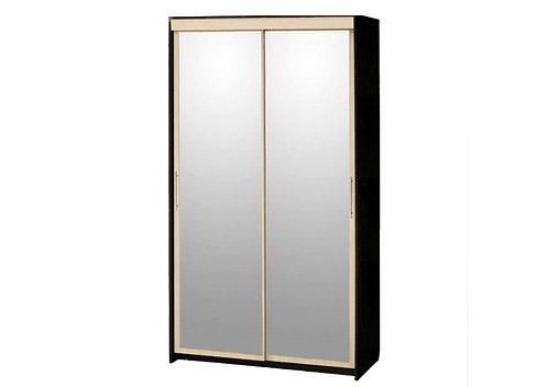 Шкаф-купе 2-дверный с 2 зеркалами