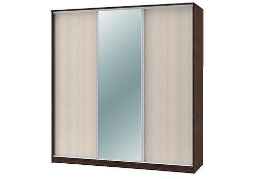 Шкаф-купе «Техно 1800 и 2100мм» с 1 зеркалом