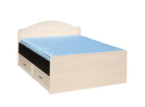Кровать полуторная с ящиками