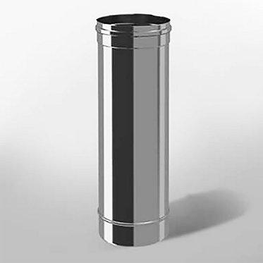 Дымоход прямой Моно (длина 500 мм, диаметр 150 мм, толщина 0.5 мм)