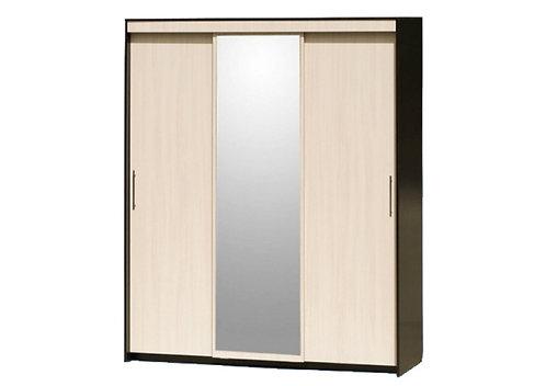 Шкаф-купе 3-дверный с 1 зеркалом