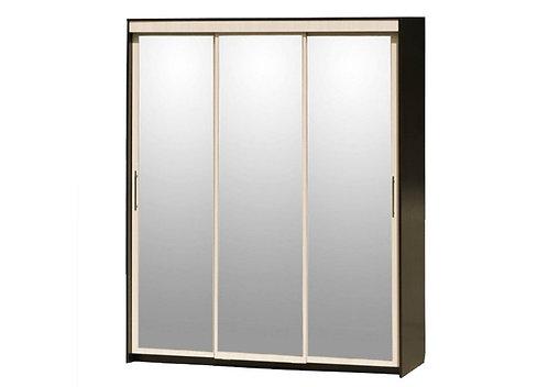Шкаф-купе 3-дверный с 3 зеркалами