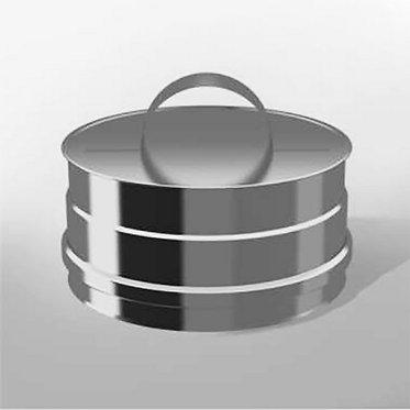 Заглушка Ревизии Моно (диаметр 150 мм, AISI 201)