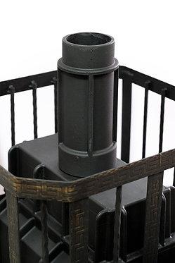 Чугунная дымоходная труба - 250 мм