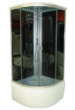 К-Серия 983 душевая кабина, прозрачное стекло, 90х90 см