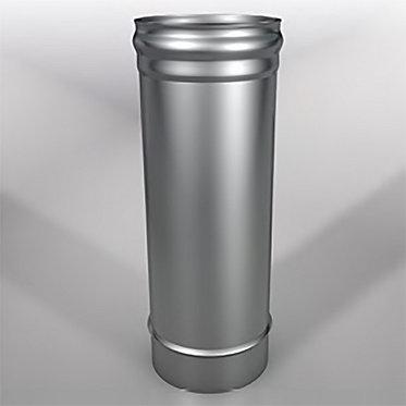 Дымоход прямой Моно (длина 500 мм, диаметр 115 мм, толщина 0.8 мм)
