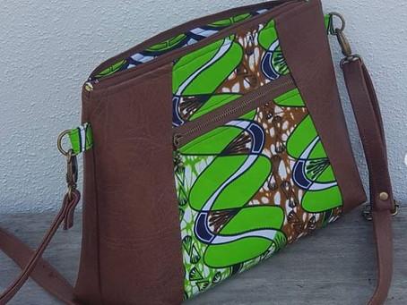 Making an African Print Bag