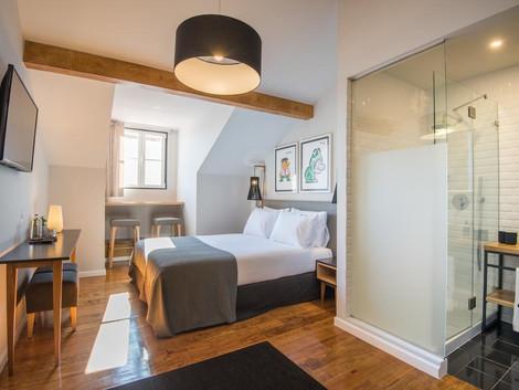 6 hoteles en Lisboa buenos, bonitos y baratos