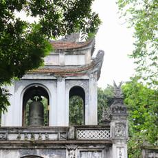 El Templo de la literatura de Hanoi, la primera universidad de Vietnam