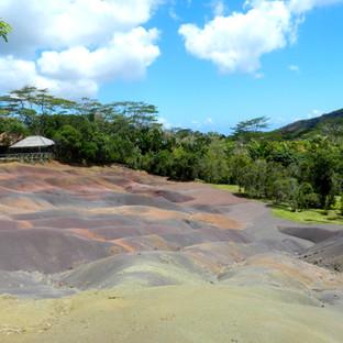 La tierra de 7 colores en Isla Mauricio
