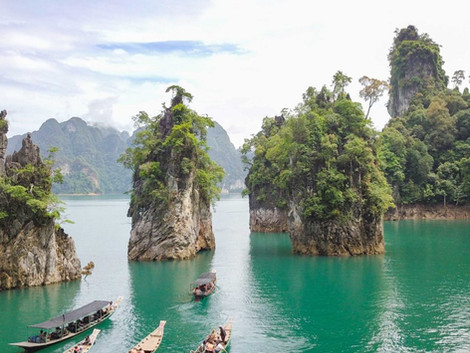 Cómo Visitar el Parque Nacional de Khao Sok; Lago Cheow Lan y selva tailandesa