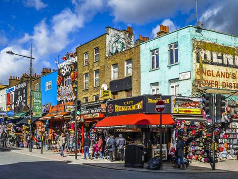 ¡Disfruta de los mercadillos de Camden y de su aire bohemio!
