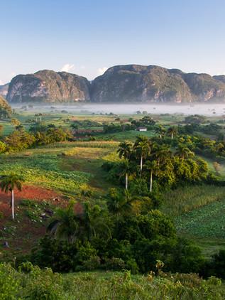 Valle de Viñales, patrimonio de la humanidad en Cuba