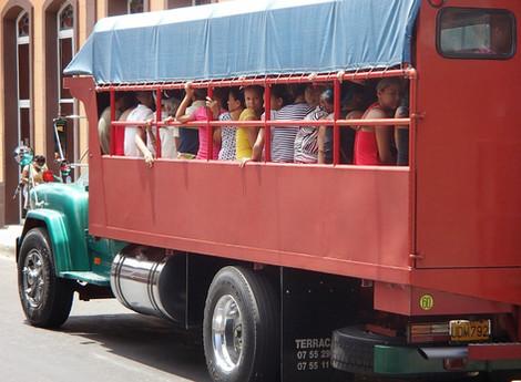 Como moverse por Cuba; Transportes