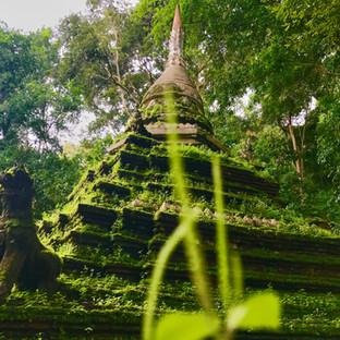 Wat Pha Lat, un templo escondido en la selva de Chiang Mai