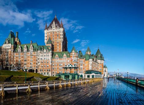 Quebec, un trocito de Europa en Canadá
