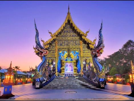Chiang Rai, es la ciudad con los templos más extravagantes de Tailandia