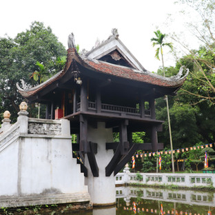 Pagoda del Pilar Único, Hanoi
