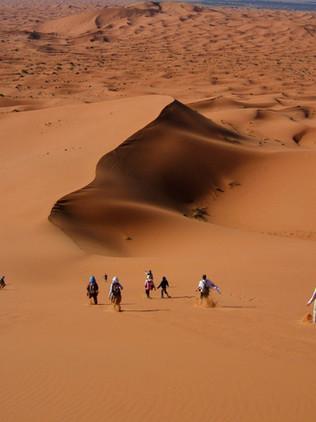 Dormir en el desierto de Merzouga ¡Increíble experiencia!