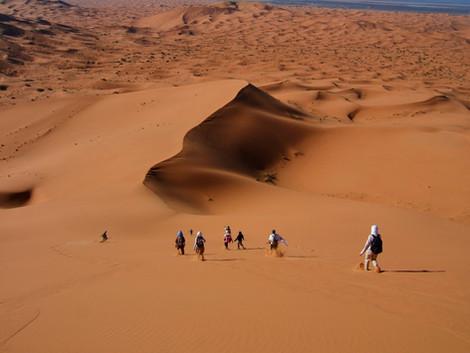Dormir en el desierto de Merzouga ¡Waww!