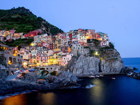 La pintoresca Cinque Terre