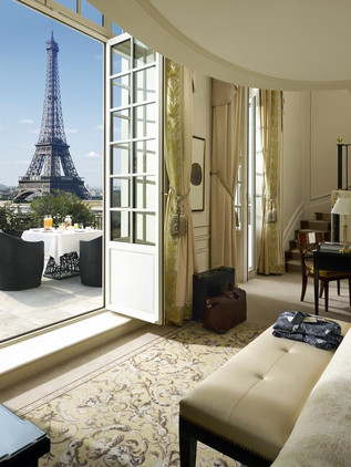 5 hoteles con vistas a la Torre Eiffel para darse un capricho