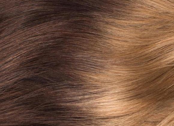 Medium Brown to light blonde ombre