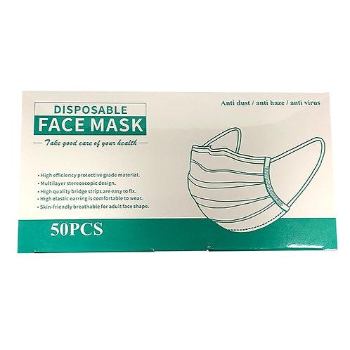 [50PCS] Anti Dust Disposable Face Mask