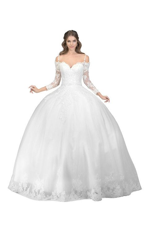 Anny's Bridal AB6636