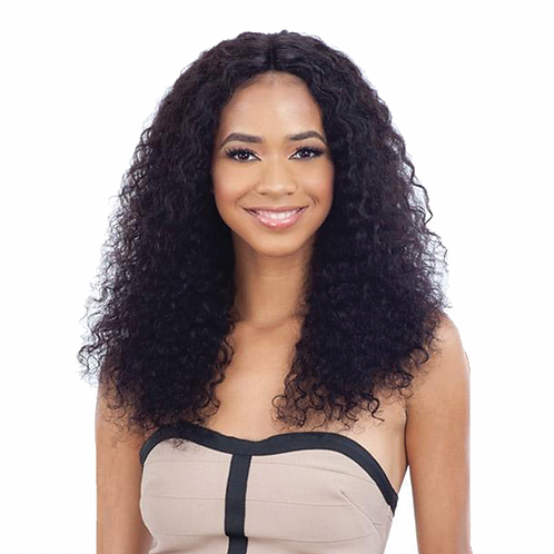 Naked Nature Lace Part Wig - Deep Wave