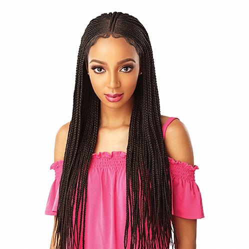 Fulani Cornrow 13x5 Swiss Lace Wig