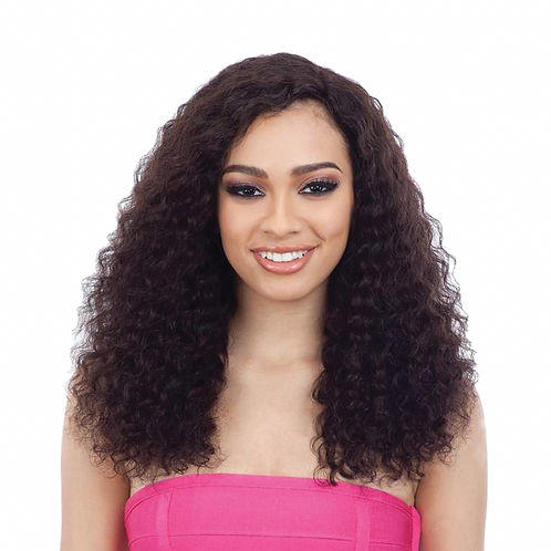 Naked Nature Lace Part Wig - FD Deep Wave 18""