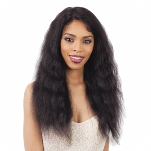 Naked Nature Lace Part Wig -Loose Deep