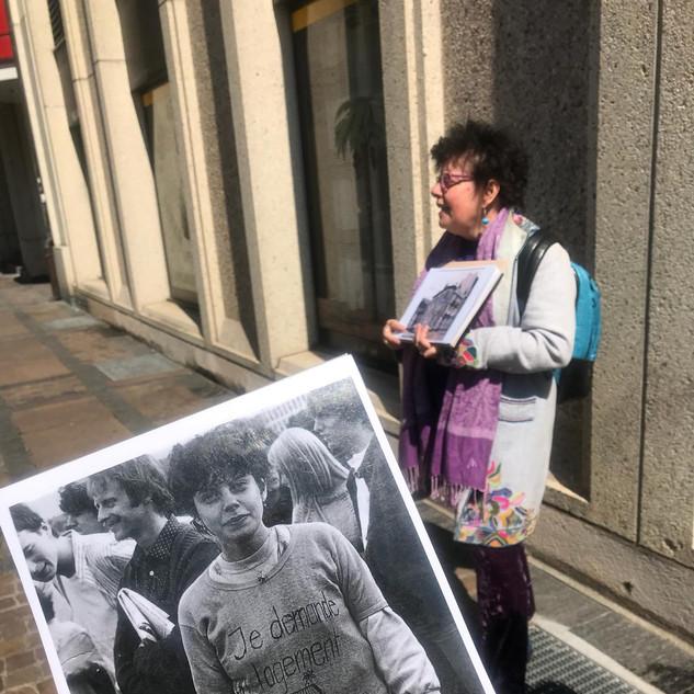 Visite guidée sur l'histoire des squats féministes à Genève 14.04.2019