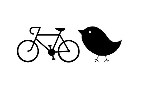Bike Chick Vinyl Decal | Female Bicycle Cycling Sticker