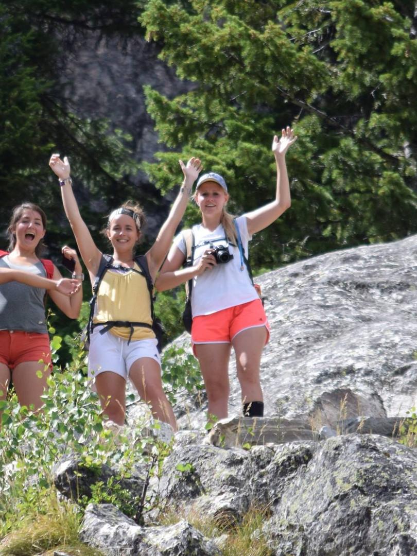 Grand Tetons hike