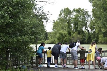 Teaching the kiddos to fish