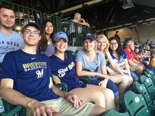Another Brewer's game outing