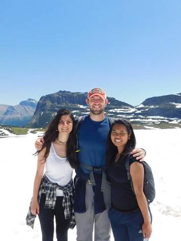 Up at Logan Pass