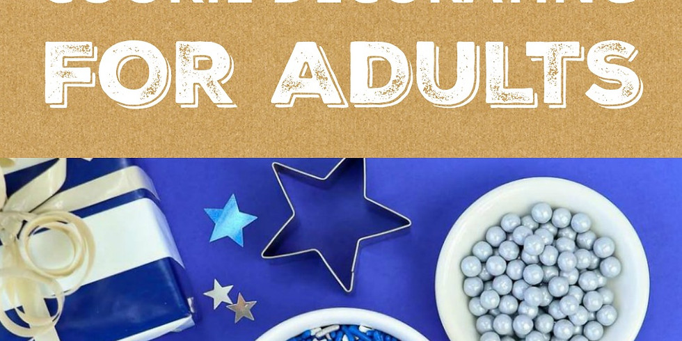 BYOB Hanukkah Cookie Decorating for Adults