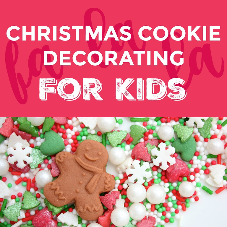 Kid's Christmas Cookie Decorating