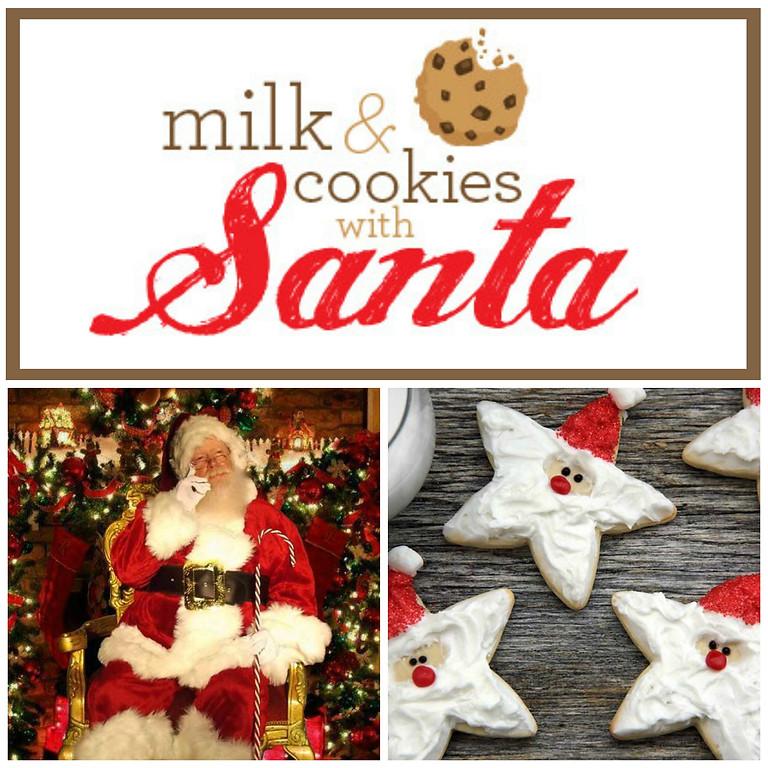 Cookies & Milk with Santa