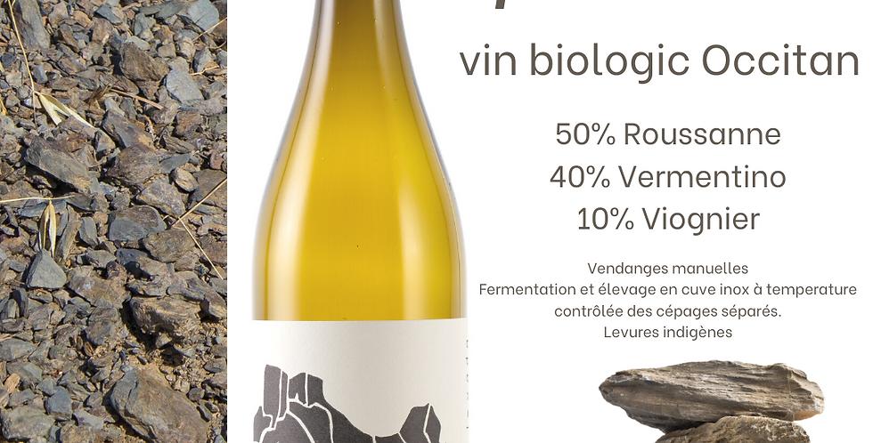 Peira levada AOC Languedoc Blanc Domaine Sauta Roc
