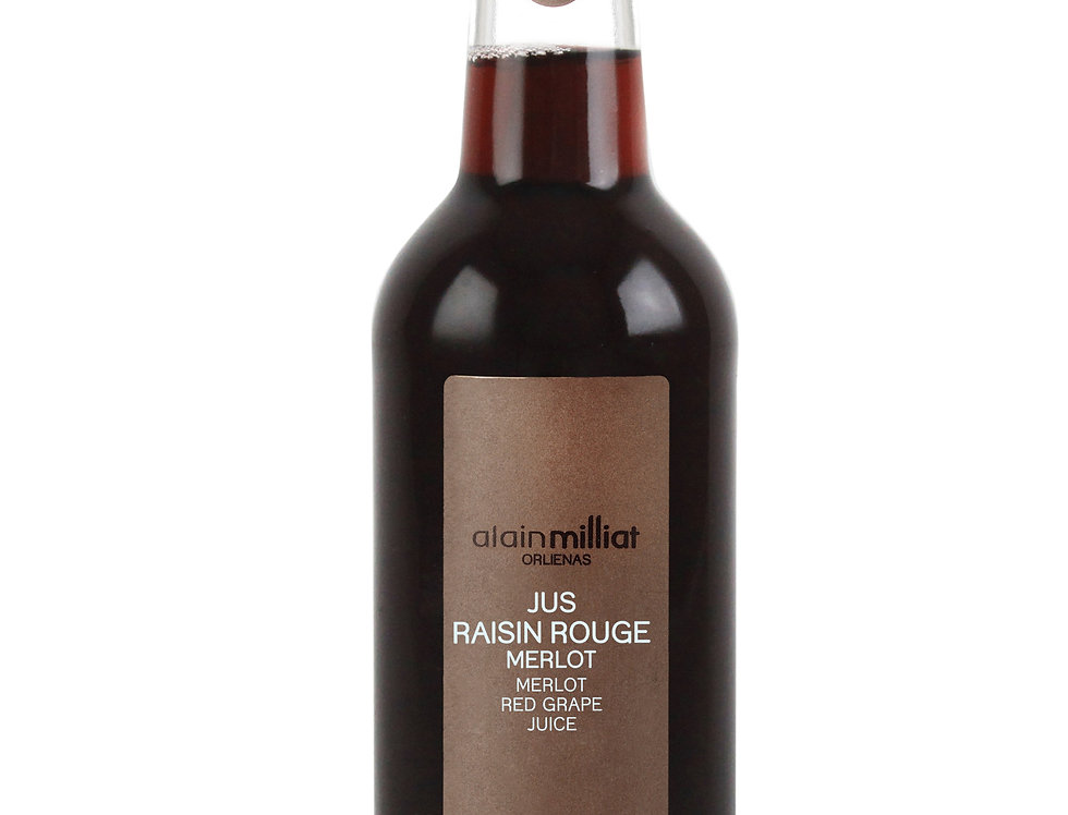 ALAIN MILLIAT JUS RAISIN ROUGE MERLOT 33CL