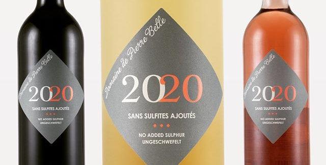 Vin Sans Sulfite Ajouté Domaine de Pierre Belle