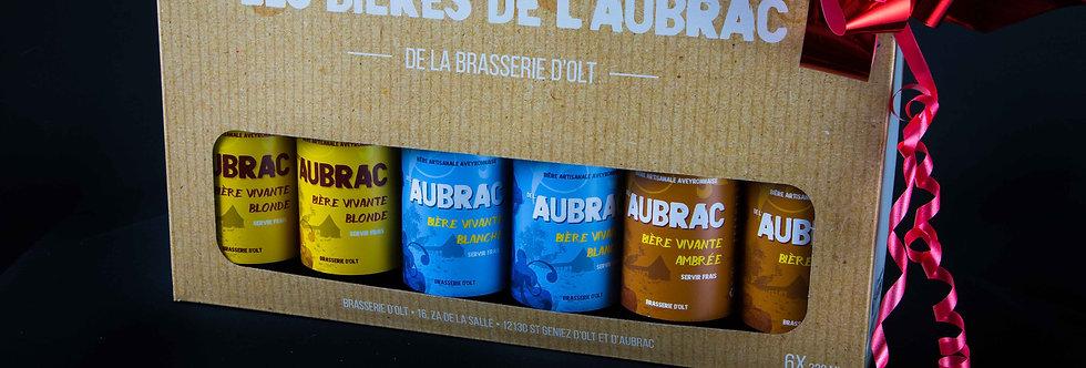 Coffret 6 Bières 33CL Brasserie de l'Aubrac