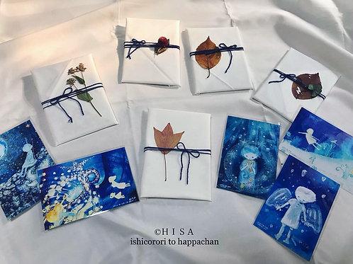 HISAセレクト「青い世界」ポストカードセット5枚+1枚(お楽しみ)