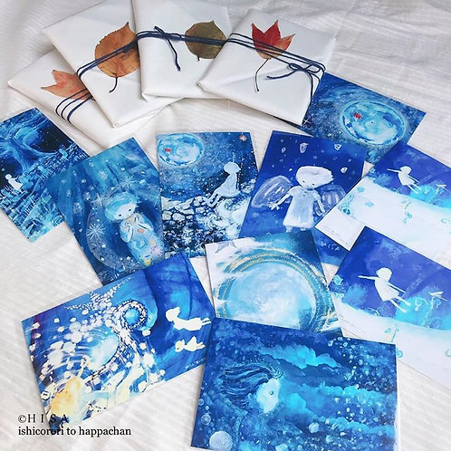 HISAセレクト「青い世界」ポストカードセット10枚入