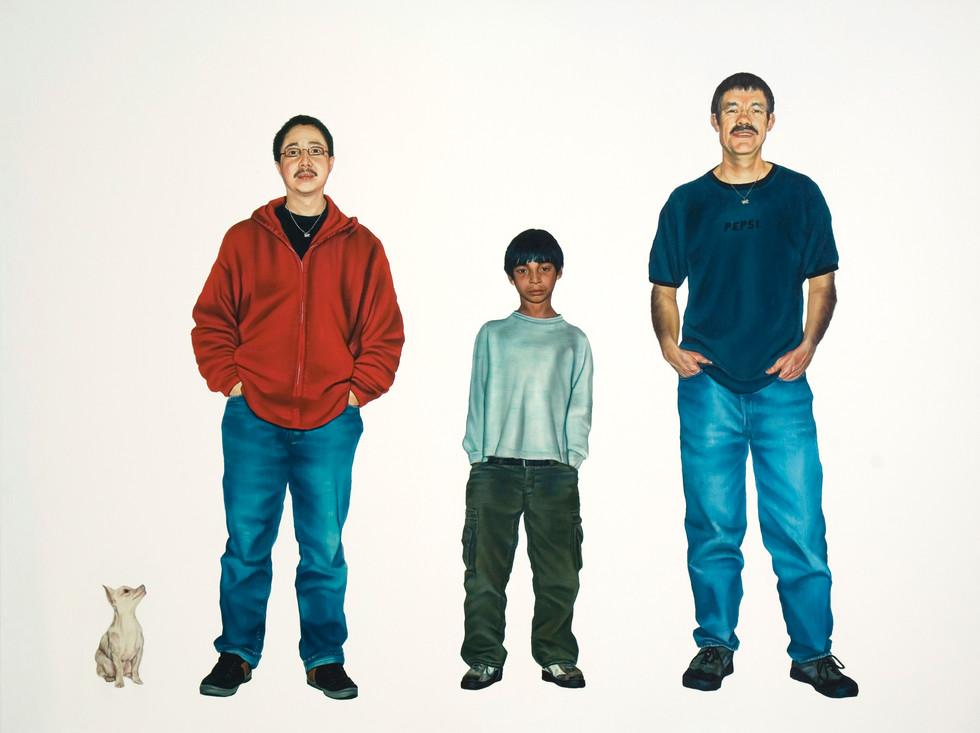 The Montoya-Lee Family Portrait